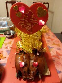 百福中式生日乳豬