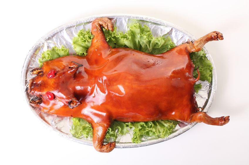 如何炮製一隻好吃的燒乳豬?