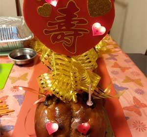百褔中式生日乳豬
